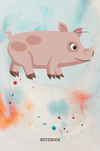 Notebook: Funny Piglet - Piggy Planner / Organizer / Lined...