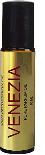 Perfume Studio Oil IMPRESSION of Venizia Perfume for Women; 10ml Roll on Glass Bottle, 100% Pure Undiluted, No Alcohol Parfum (Premium Quality Fragrance Version)