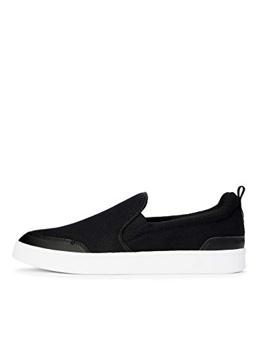 CARE OF by PUMA Slip on Court Low-Top Sneakers, Nero (Black-Black), 43 EU