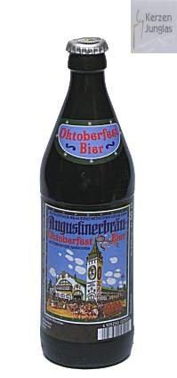 Bierkerze, Augustiner Oktoberfestbier 0,5 l- 2006 - Bayerische Bier Geschenke - Das perfekte Bier Geschenk für Bierfreunde und Bierfans. Bier Geschenke lustig. candele di birra – beer candles