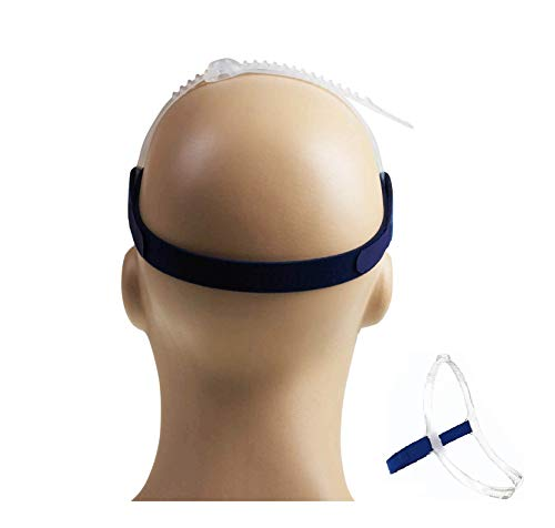 Back Strap Compatible with ResMed CPAP Mask Swift Fx Nasal Pillow - Replacement Headgear for Swift FX Nasal Pillow (Mask,Frame Not Included) - ResMed CPAP Supplies Option - CPAP Headgear Back Strap