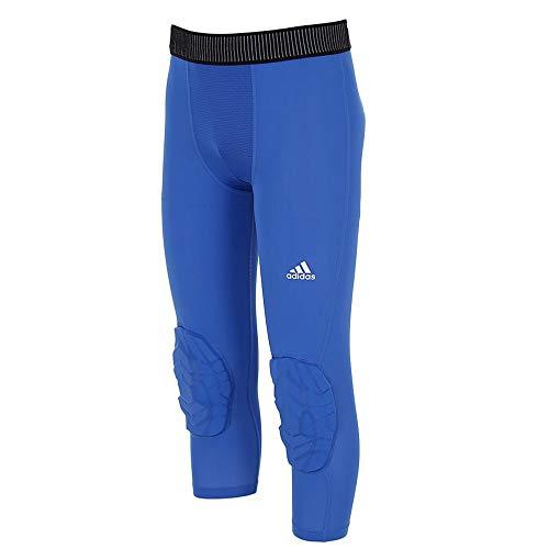 adidas Herren Padded Tights 3/4 Basketball blau, 36857_256700, blau, XXLT