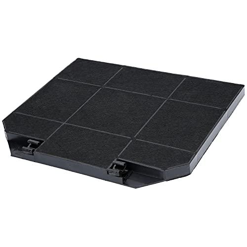 1x Filtro de carbón activado para campanas extractoras EFF72, adecuado para el filtro de carbón Bosch 00668491, AEG 9029793636, Faber 112.0157.243, Ikea 003.953.51, NYTTIG FIL 650