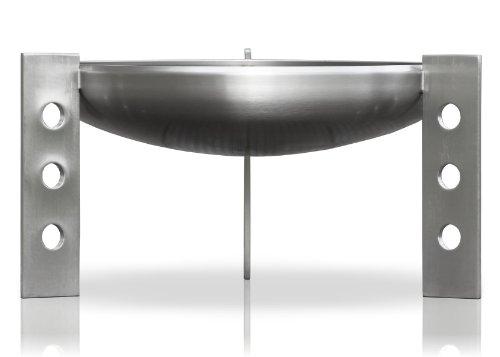 Edelstahl Feuerstelle, Ø 60 cm, RICON, deutsche Herstellung
