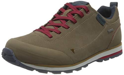 CMP Low Hiking Shoe, Scarpa Trekking Bassa Elettra WP Uomo, Castoro, 43 EU