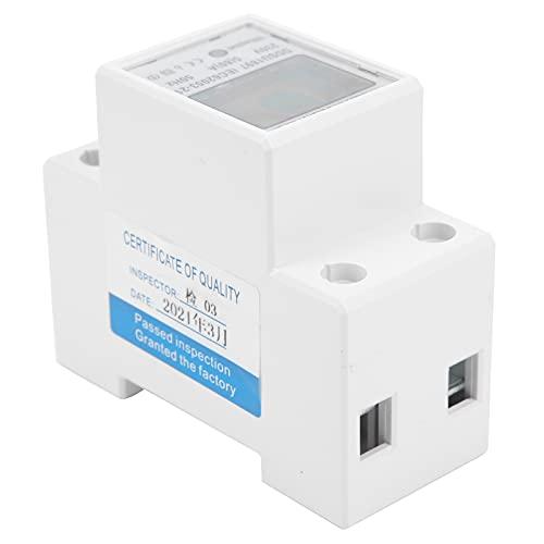 KUIDAMOS Medidor de vatios-Hora, monofásico Medidor de energía de 2 Cables Medidor...