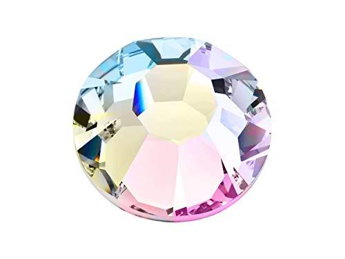 Preciosa/Ornela 72 pcs MC Chaton Rose Maxima HOTFIX SS 16, Crystal AB, Czech Glass