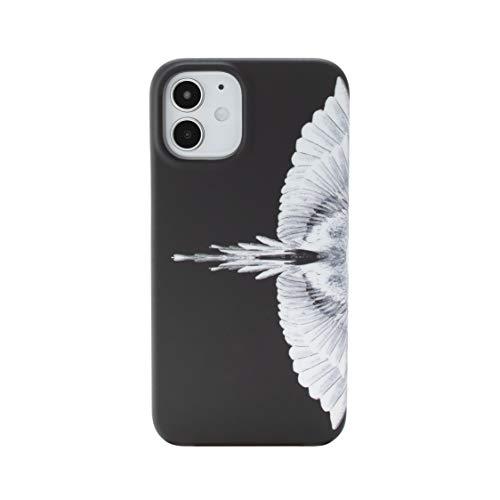 MARCELO BURLON COUNTY OF MILAN Cover/Custodia Compatibile con iPhone 11 - Custodia Burlon Originale con Vetro temprato 9H - Rigida - Soft Touch - Protezione FR rialzata