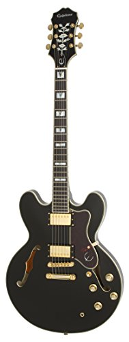 Epiphone Sheraton-II PRO - Guitarra eléctrica, color ebony