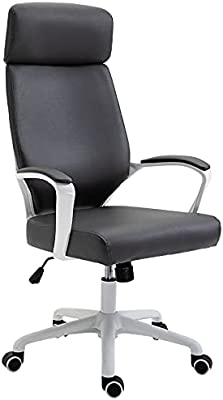 Office Gaming Chair Swivel Computer Chair Comfortable Backrest Desk Chair Writing Chair Makeup Stool for Study Dormitory Bedroom Meeting Room,Black