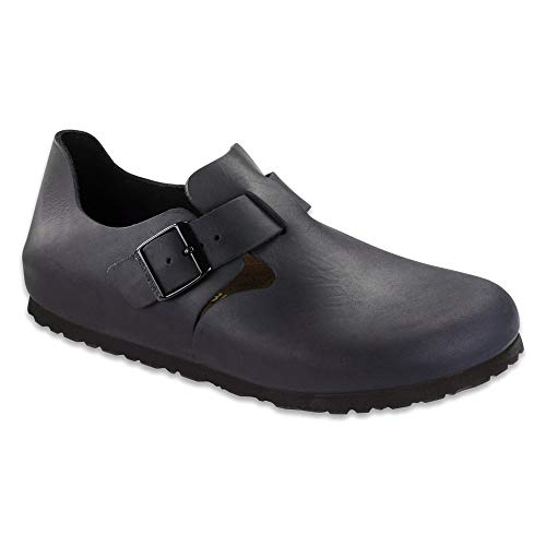 Birkenstock Unisex London European Loafer Hunter Black Size 47 EU (14-14.5 M US Men)