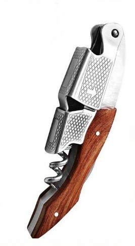 Waiter Corkscrew  Wine Opener  foil Cutter  Handle All In One Corkscrew  Used By Sommeliers And Bartenders