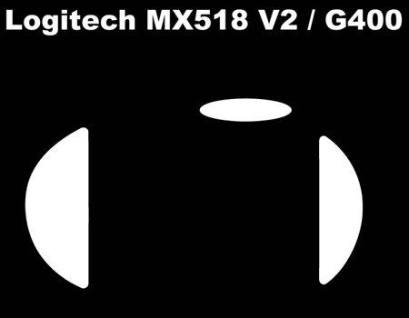 Neu Corepad Skatez Ersatz Maus Füße für Logitech G400 / Mx518(v2)