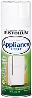 12 Oz Gloss White Appliance Epoxy Enamels Spray Paint [Set of 6]