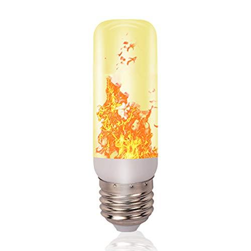 NOWON Bombilla de luz de Llama de Parpadeo LED Lámpara E27 de Fiesta de Navidad con Efecto de Fuego ardiente simulado