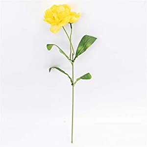 TRRT Fake Plants Artificial Flowers, Home Garden Decoration Rosemary Poppy Fake Flowers Branch Wedding Party Fake Flower (Color : Yellow)