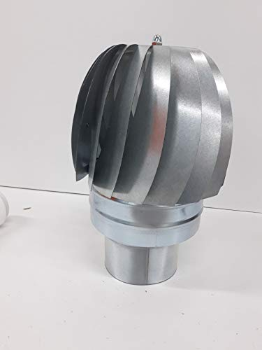 WOLFPACK 22011129 Sombrero Extractor Galvanizado Para Estufa 110mm
