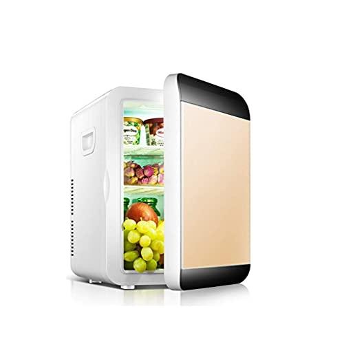 Pkfinrd Mini refrigerador de 20 litros Compacto de 20 litros/Calentador Mini Nevera para automóviles, excursiones por Carretera, Casas, oficinas y dormitorios