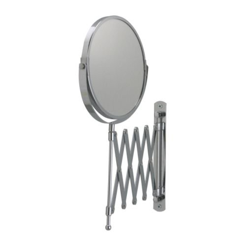 Ikea Frack Spiegel aus Edelstahl