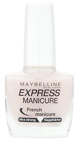 Maybelline New York Nagellack, Stärkend, Express Manicure French Manicure Nagelhärter, Nr. 7 Pastel, 10 ml