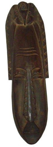 GamePoint Handgearbeitete Holzmaske aus Bali zum Aufhängen, Höhe ca. 50 cm. Neu im Sortiment!!!