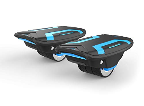 VOYAGER Space Shoes Hover Skates with Dual 320W Motors and 6.2 MPH Max Speed for Kids and Adults (Blue)
