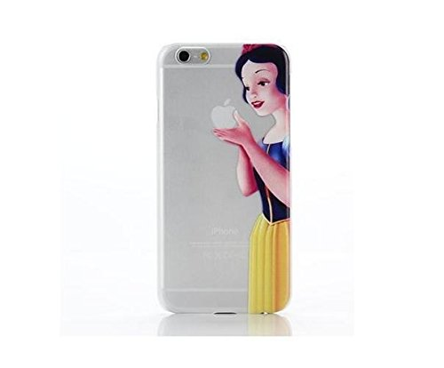 CASE COVER CUSTODIA IPHONE 6 4,7 BIANCANEVE DISNEY