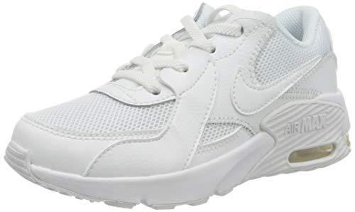 NIKE Unisex barn Air Max Excee (Ps) Sneaker, Vitt - 16 EU
