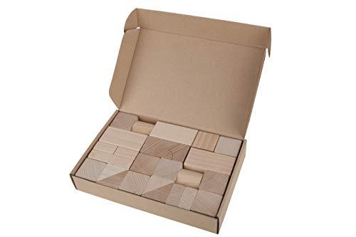 Lobito Spielzeuge Naturholz-Blockset |...