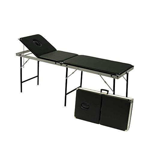 Holthaus Medical Kofferliege Massageliege Koffermassagebank Liege, klappbar, 98x60x16cm, 16kg