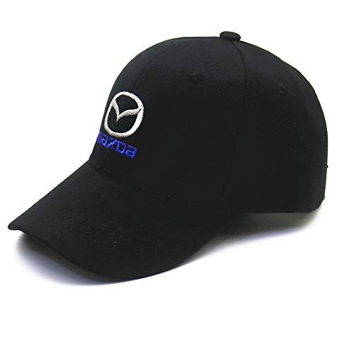 Yooci Cap Auto Emblem Baseballmütze Hüte für VW GTI Audi Skoda Lada OPEL Daewoo Volvo Logo Lexus kia FIAT Abarth Toyota Subaru Citroens for Mazda