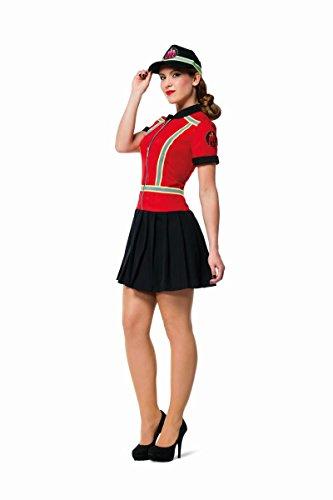 Damen Kostüm Feuerwehr Feuerwehrfrau Karneval Fasching Gr.42