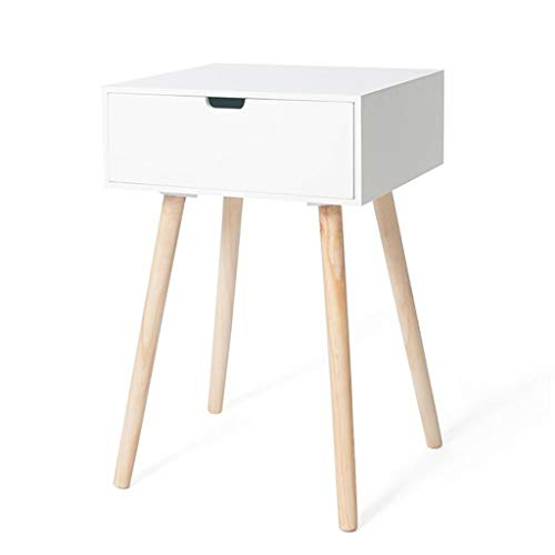 Vierkant Nachtkastje Simple Modern Side Table Massief Houten bijzettafel