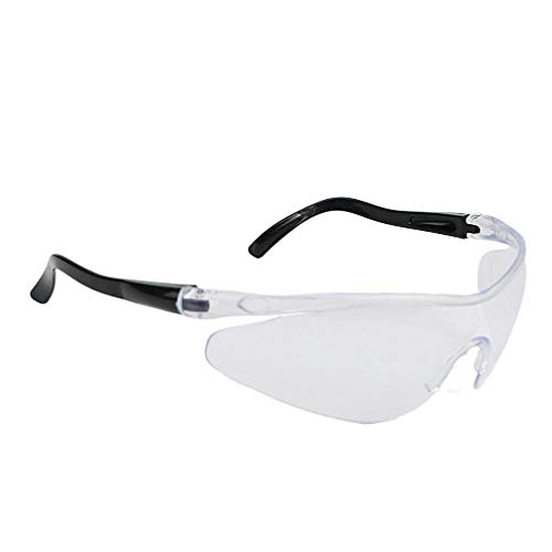 Anti-spitting veiligheidsbril / anti-condens bril isolatie ademend anti-spit bril volledig helder zicht verfdoos 1 stuks (transparant)
