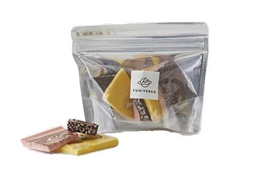 5 種類詰め合わせセット YUNIVERSO (ユニベルソ) 割れチョコ フレッシュミックス ナッツミックス 和ミックス マシュマロ あまおうマシュマロ 500g