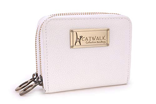 CATWALK COLLECTION HANDBAGS - ISLA - Ladies Small Organiser Zip Purse with...