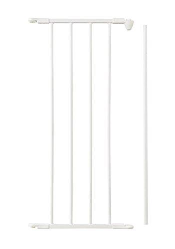 Baby Dan Flex Sektion/Verlängerung, Weiß, 33 cm: für Schutzgitter Flex M / L / XL / XXL sowie Laufställe Park-A-Kid und Square - hergestellt in Dänemark