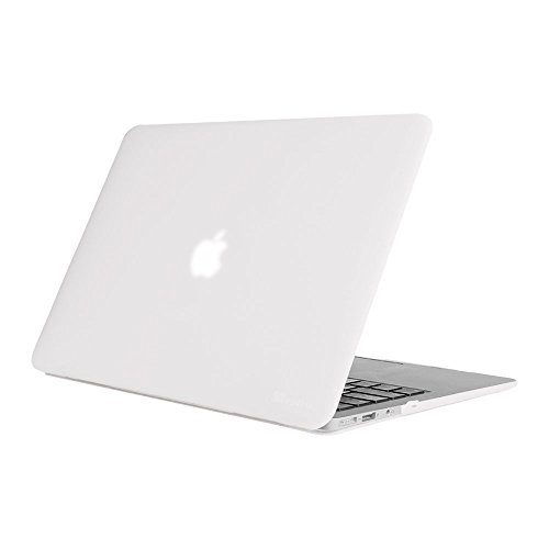 FINTIE Case for MacBook Air 13 Inch, Fits Previous Generations A1466 / A1369 - (Will Not Fit MacBook Air 13 A2179 / A1932), Slim Snap On Hard Shell Protective Cover, Frost Clear