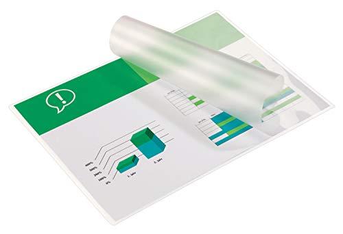 GBC Laminierfolientaschen Premium Qualität (für DIN A4, 350 µm), 100 Stück