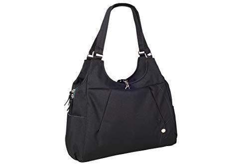 Haiku Women's Large Renaissance Eco-Friendly Zippered Laptop Tote Bag, Black Juniper