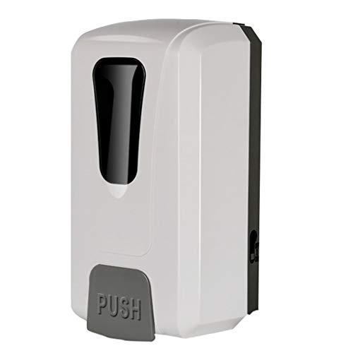 Dispensadores de loción y de jabón Dispensador automático del jabón del sensor del hotel Dispensador elegante del jabón de la espuma del cuarto de baño sin perforaciones montado en la pared Dispensado