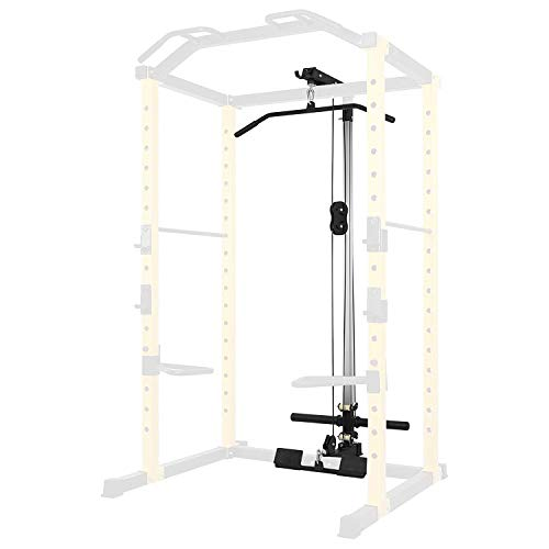 HulkFit Lat Pull-Down and Low Row Attachment for HulkFit Multi-Function Adjustable Power Cage,...