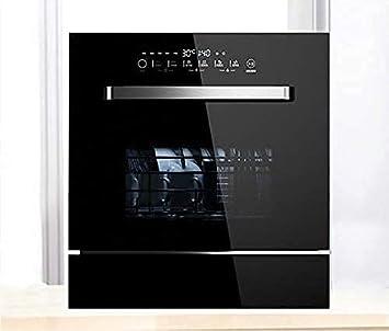 MOSHUO Lavavajillas de 220 V / 1800 W, Rejilla para Platos de Cocina, Lavado rápido, Panel táctil, Secadora de vajilla, Lavavajillas doméstico independiente-21-40L