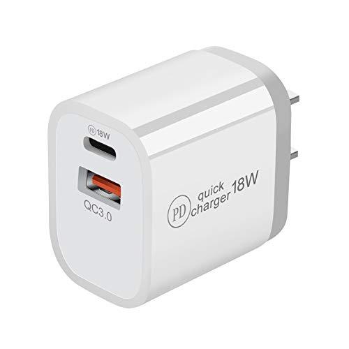 Shubiao Quick Charge 3.0 USB tipo C PD cargador de doble puerto para teléfono móvil adaptador de alimentación
