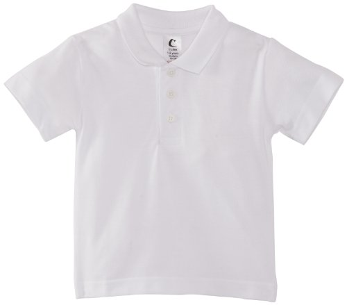 Trutex - Polo con cuello de polo de manga corta para niña, talla 2-3 Years - talla inglesa, color blanco