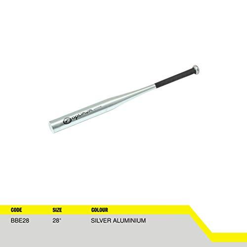 Optimum  Extreme Baseball Bat, Silver Aluminium, 28-Inch