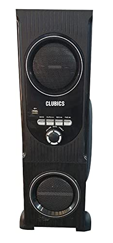 CLUBICS Tower Bluetooth Speaker - Best for Mini Party, Full Sound (Black)...