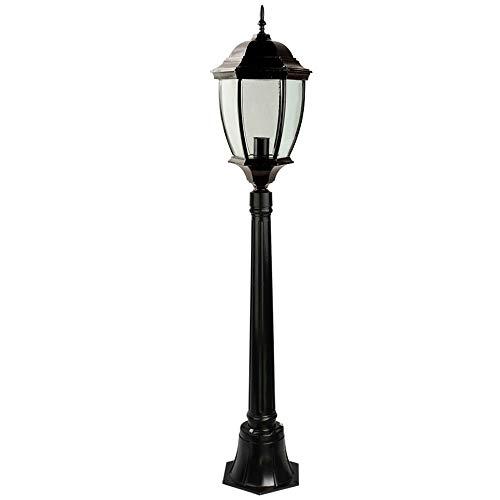 Buitenlamp voor tuinverlichting 10 W E27 wandlamp/tuinlamp voor gazon/aluminium/licht waterdicht/licht voor lantaarn [energieklasse A++]