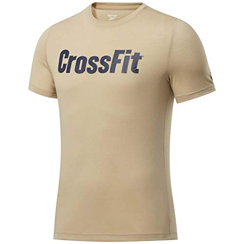 Reebok RC Crossfit Read tee Camiseta, Hombre, utibei, S