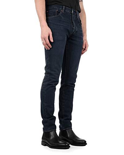 Levi's Heren 501 Skinny jeans, Blauw